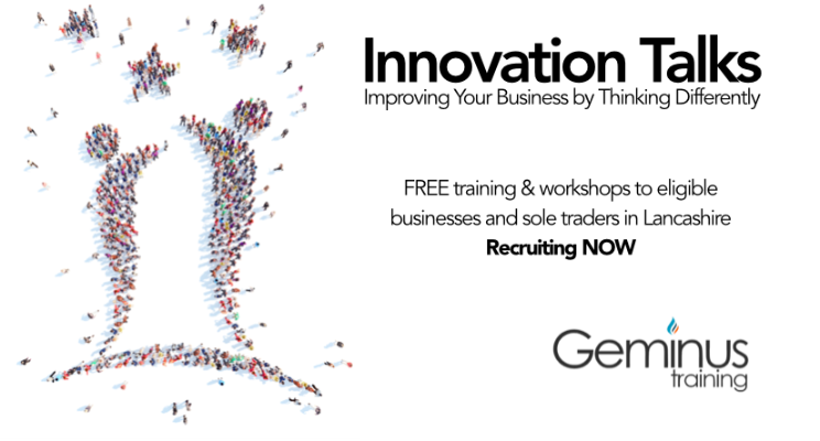 Innovation Talks – Free Innovation Training and Workshops for Lancashire Businesses!